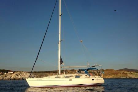 Sailing in the beautiful aegean sea - İzmir, TR - Boot