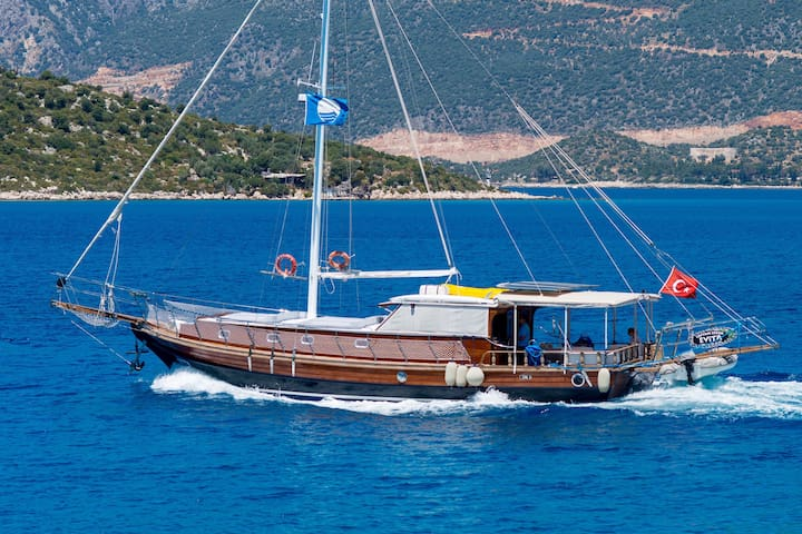Gulet Holiday with Crew Kekova - Demre - Barco