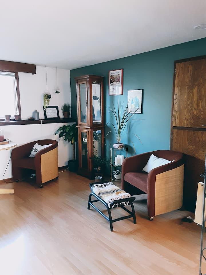 Affordable & furnished humble abode.