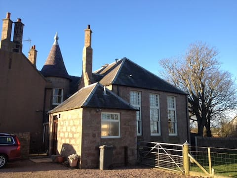 Sycamore Hall,  Cruden Bay. Cat. B Listed Building