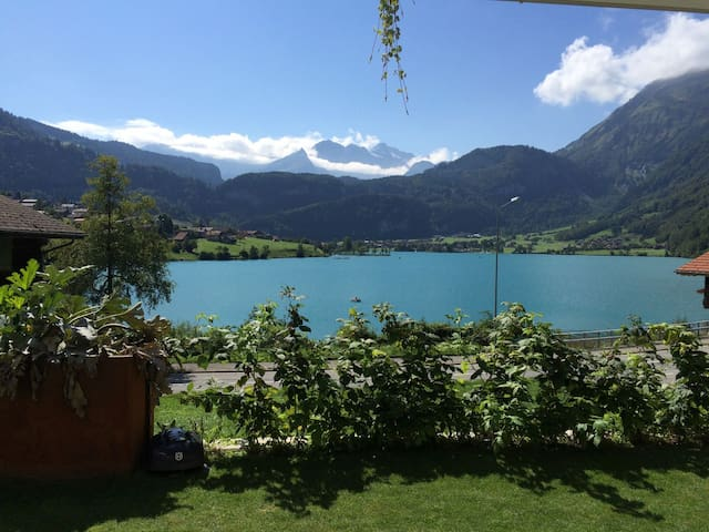 Studio, See, Berge, fischen, wandern, baden