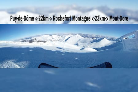 N°1 Ideal ski,rando,Mont-Dore @25mn - Bed & Breakfast