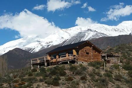 Apacheta, casa de montaña - Potrerillos - 小木屋