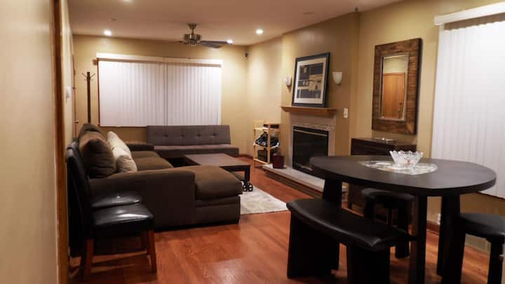 Private Beautiful 1 Bedroom Condo