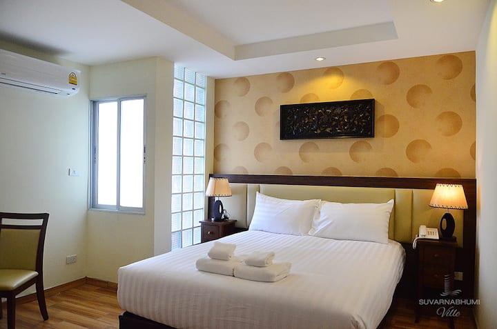 Suvarnbhumbi Airport Hotel - Deluxe Room