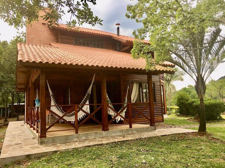 Cabana na Serra Gaúcha, próximo a Gramado.
