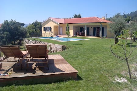 Rural house with pool and short drive to beaches
