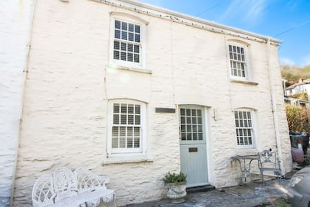 Beach Hill Cottage - Portloe - Dom