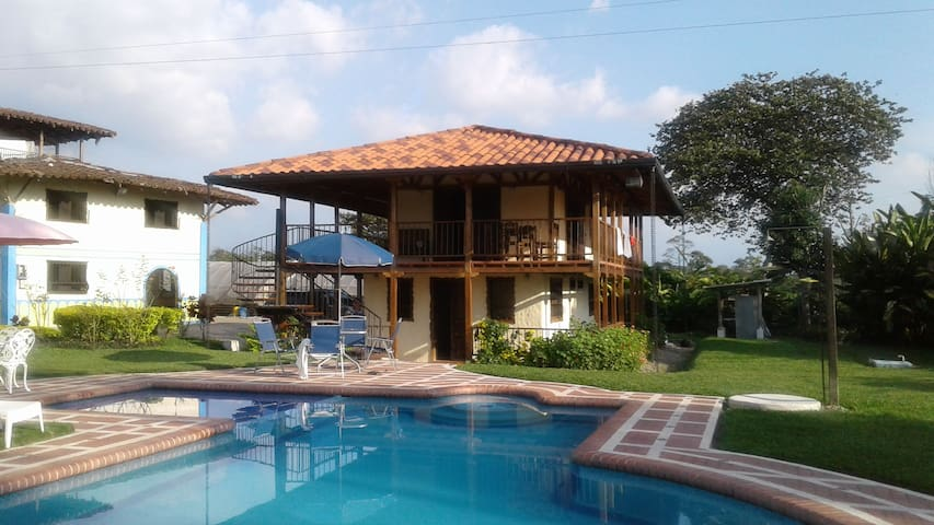 Countryside place in colombian coffe growers zone - Quimbaya