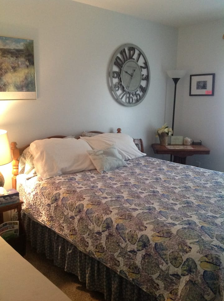 Peaceful Edgartown,  queen bedroom in home BNB