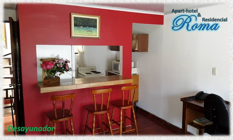 Increible Apartamento Amueblado - Heredia - Appartement