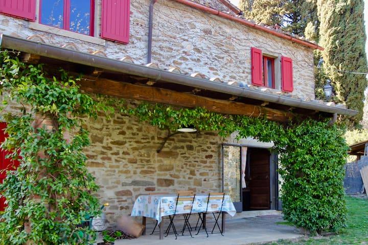 """Living inside Ornina's vineyars- Apt Il Gelsomino"