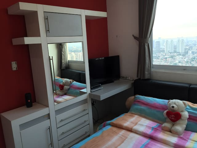 "Cozy Room @ 41st floor ""Penthouse"" & Free Laundry"
