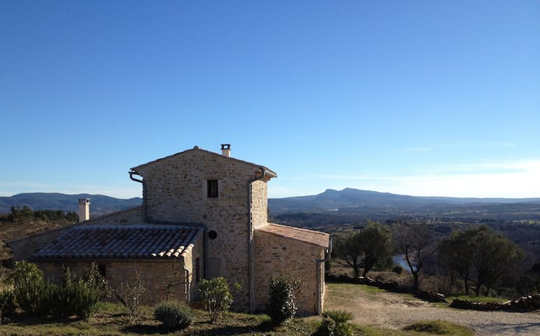 Mazet with exceptional views - Saint-Brès - House