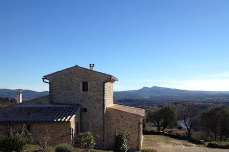 Mazet with exceptional views - Saint-Brès - Talo