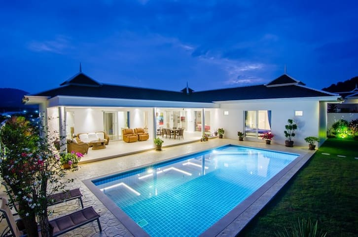 HUA HIN'S MOST EXCITING NEW PRIVATE POOL VILLA - Tambon Nong Kae - Dom