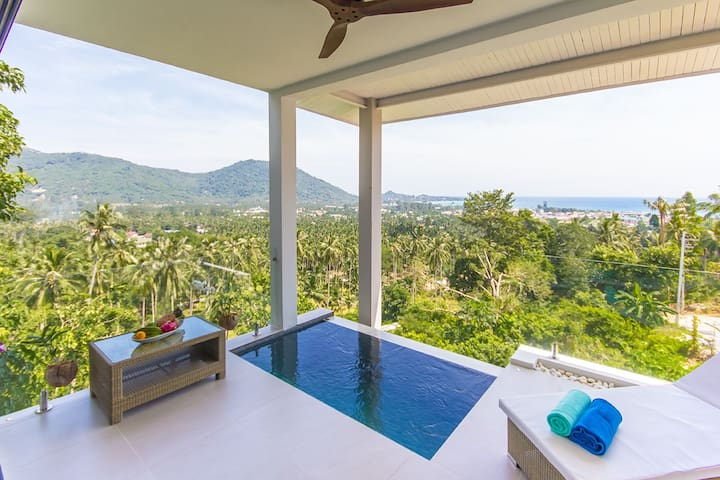 Stunning sea view studio 2 persons Koh Samui-Lamai - Ko Samui - Apartment