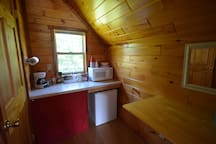 Each Cabin has A Microwave*Coffee Maker*Mini Frig
