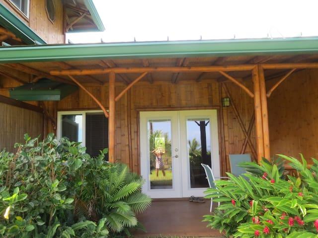 Bamboo Heaven Maui Polu (Blue) Room - Haiku-Pauwela - Bed & Breakfast