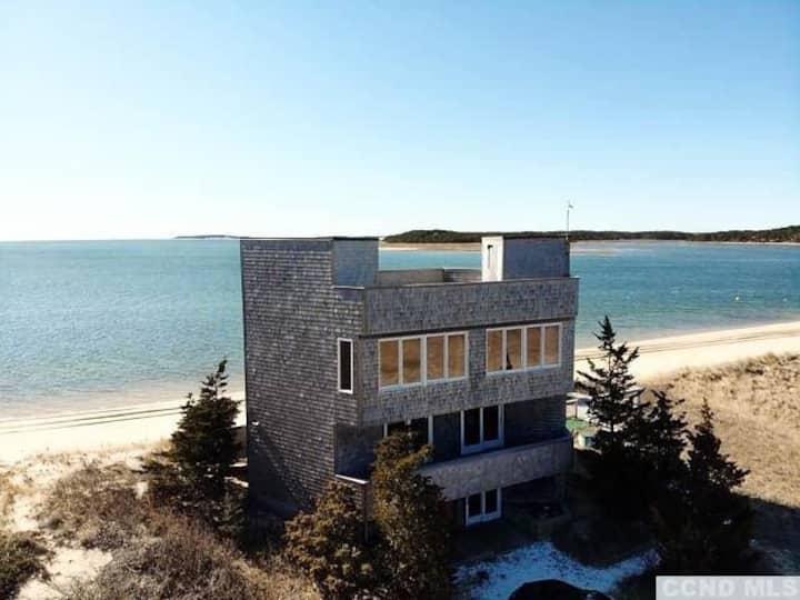 Secluded Beach House Nestled on a Coastal Dune!