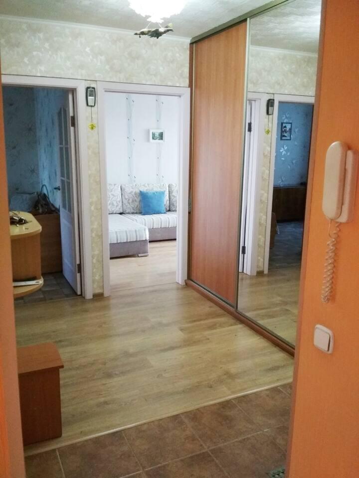 Уютная квартира в живописном районе Минска