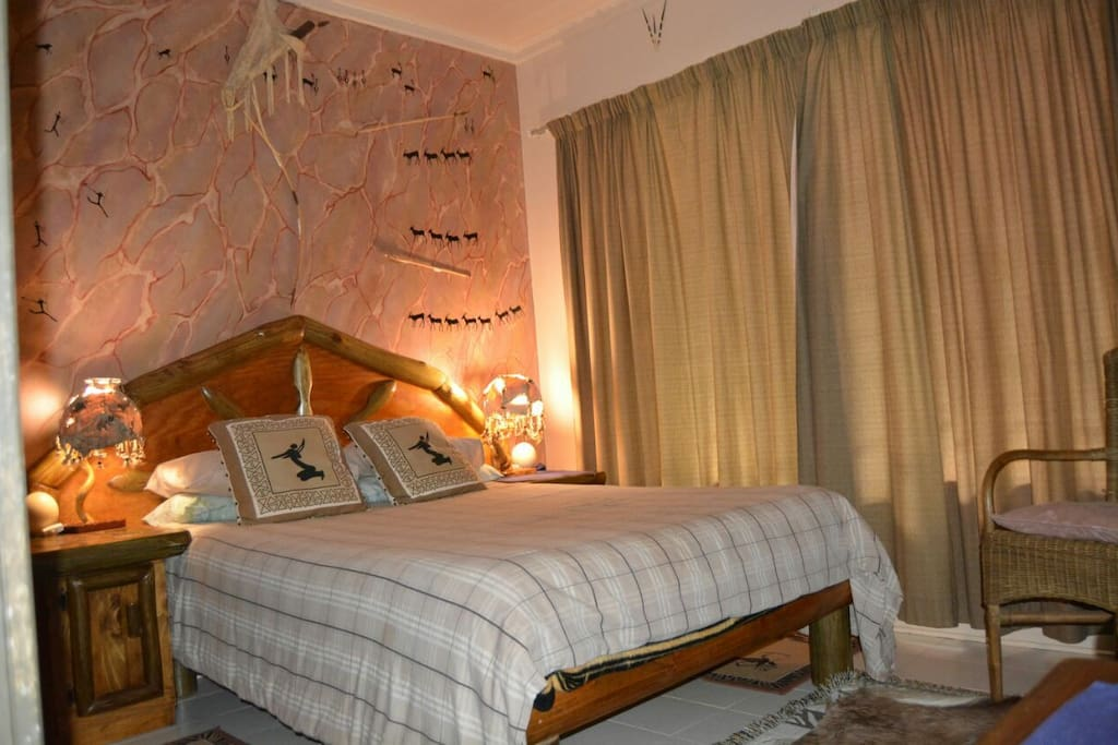 Bushman Room - Double bed