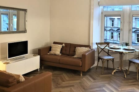 Oban Town Centre Apartment, newly refurbished.