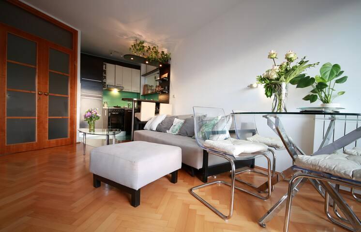 Lovely, plant lovers apartment near Jarun lake