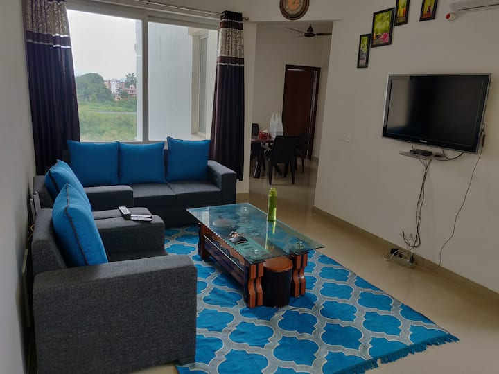 1 Pvt Room with shared Hall, Dining,  Kitchen