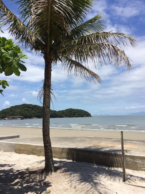 Vista da ilha