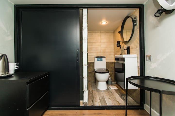 Новая квартира-студия «Кроха» со всеми удобствами