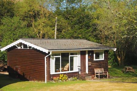 Log cabin in stunning southern Snowdonia