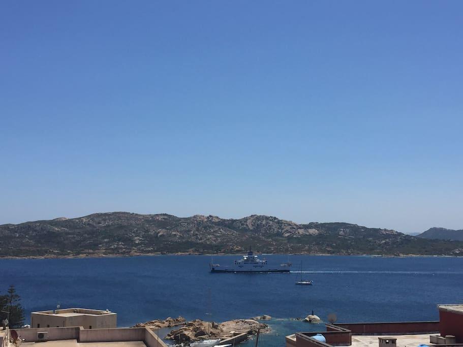 Questo è quello che vedrete dal vostro terrazzo!!