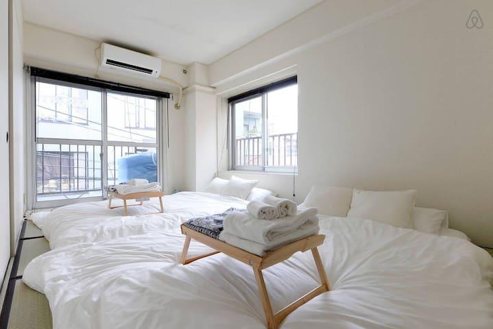 2min Shinjuku! Traditional cozy room /WiFi /T8