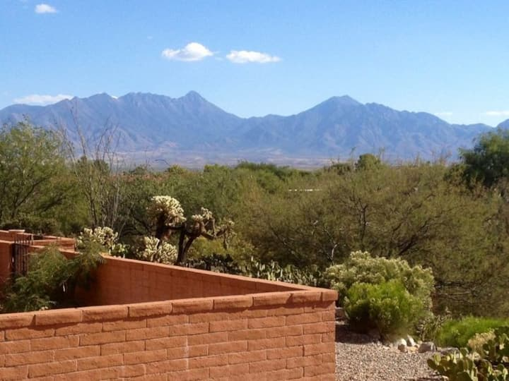 Comfy Townhome with Santa Rita Mountains view