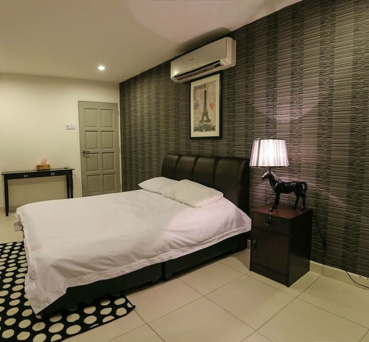 Ipoh Apartment @Ipoh city town(max 9pax)
