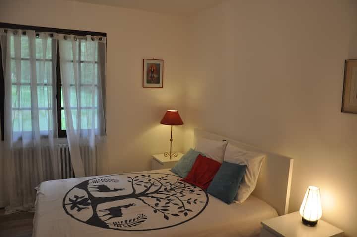 Villa de charme à 5 mn d'Amboise chambre privative