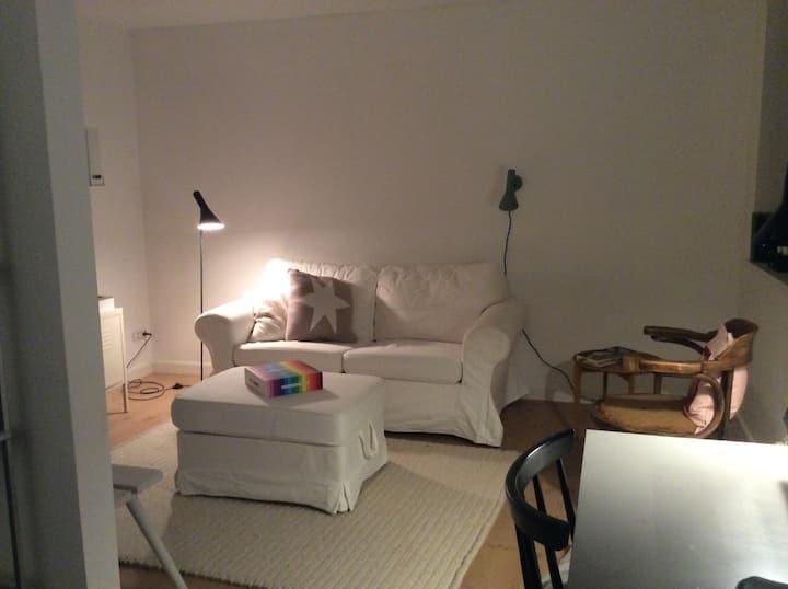 Hyggeligt værelse med privat indgang