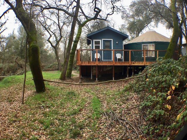 Handcrafted Yurt Hideaway