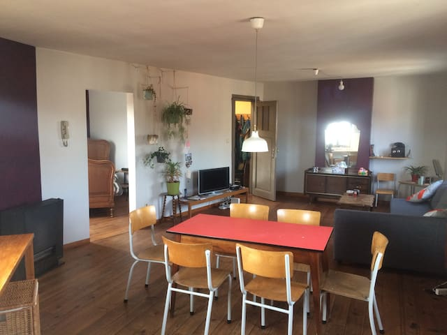 Cosy, bright & open appartment - Antwerpen - Wohnung