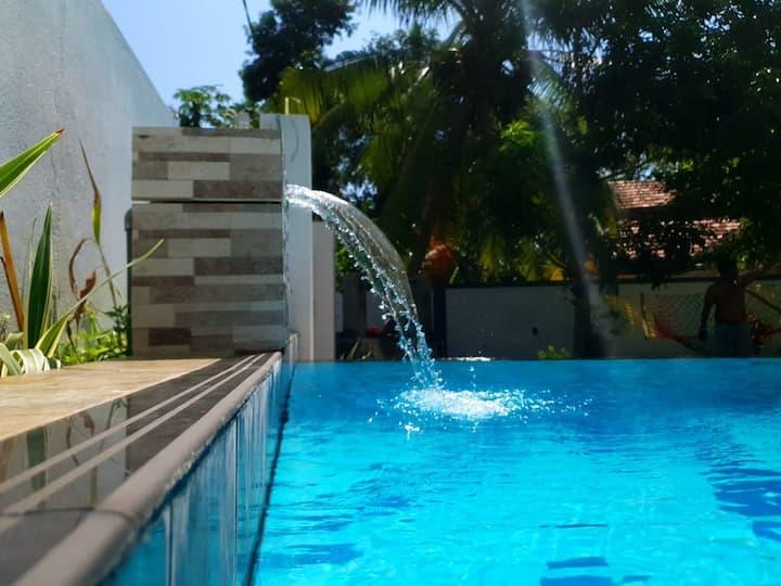 Villa@12Induruwa - Room 02 - Deluxe