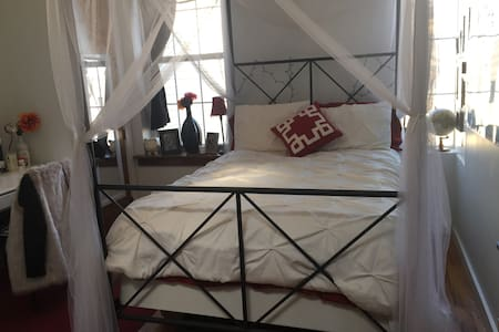 Private spacious room in Bushwick, Brooklyn - Brooklyn - Apartment