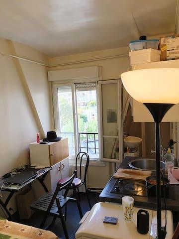 Studio à 800m de Tour Eiffel