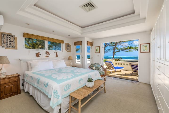 Heavenly Beach Home, Beautiful Ocean and Sunrise Views, Near Town. TVNC5057