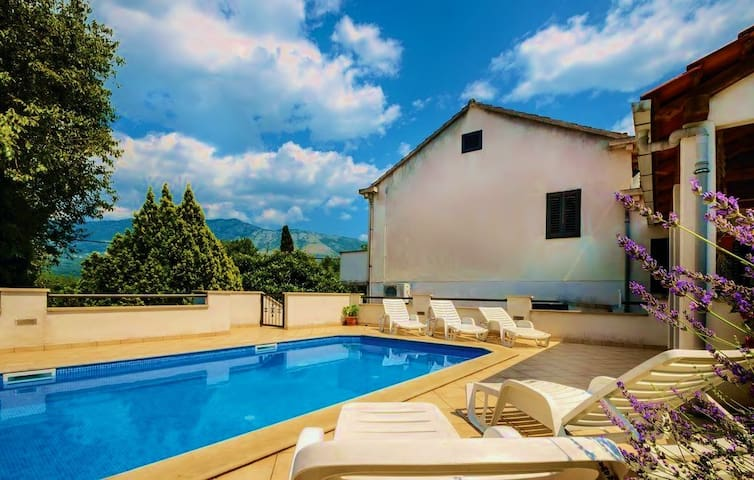 Dubrovnik Region House with Pool
