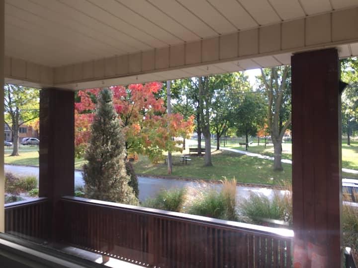 Porch Overlooking Montebello Park