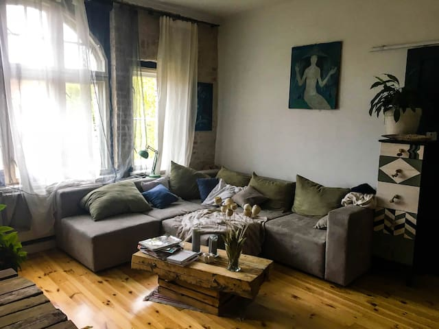 Apartment (70 m2) in historical Katowice