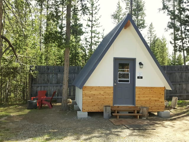 Whispering Pines A-Frame Cabin
