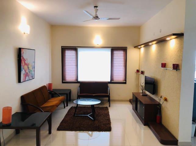 Luxury 1 BHK Apartment near Hebbal - Furnished