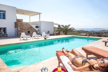 Kea Villa Thea & Petra - Private Pool - Kéa - Villa
